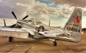 Обои North American P-51 Mustang: Истребитель, P-51, Истребители