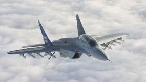Обои Миг-35: Истребитель, Небо, Авиация, Истребители
