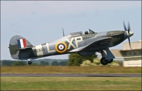 Обои Hawker Hurricane: Истребитель, Hawker, Истребители