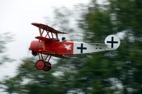 Обои Fokker D-VII DR-1: Самолёт, Fokker, Истребители