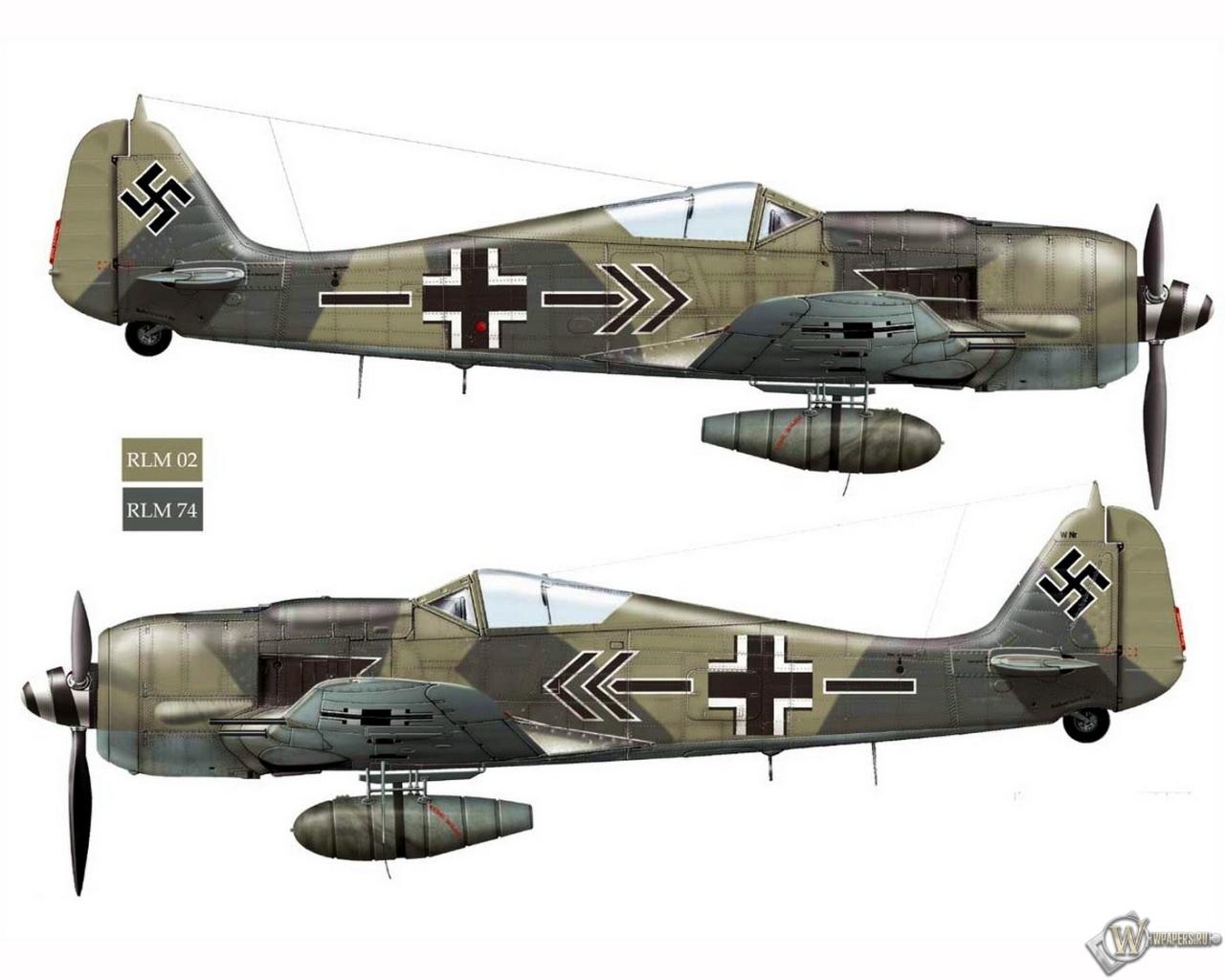 Fw-190A8-JG2 1280x1024