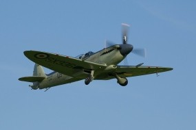 Обои Supermarine Spitfire: Истребитель, Supermarine Spitfire, Истребители