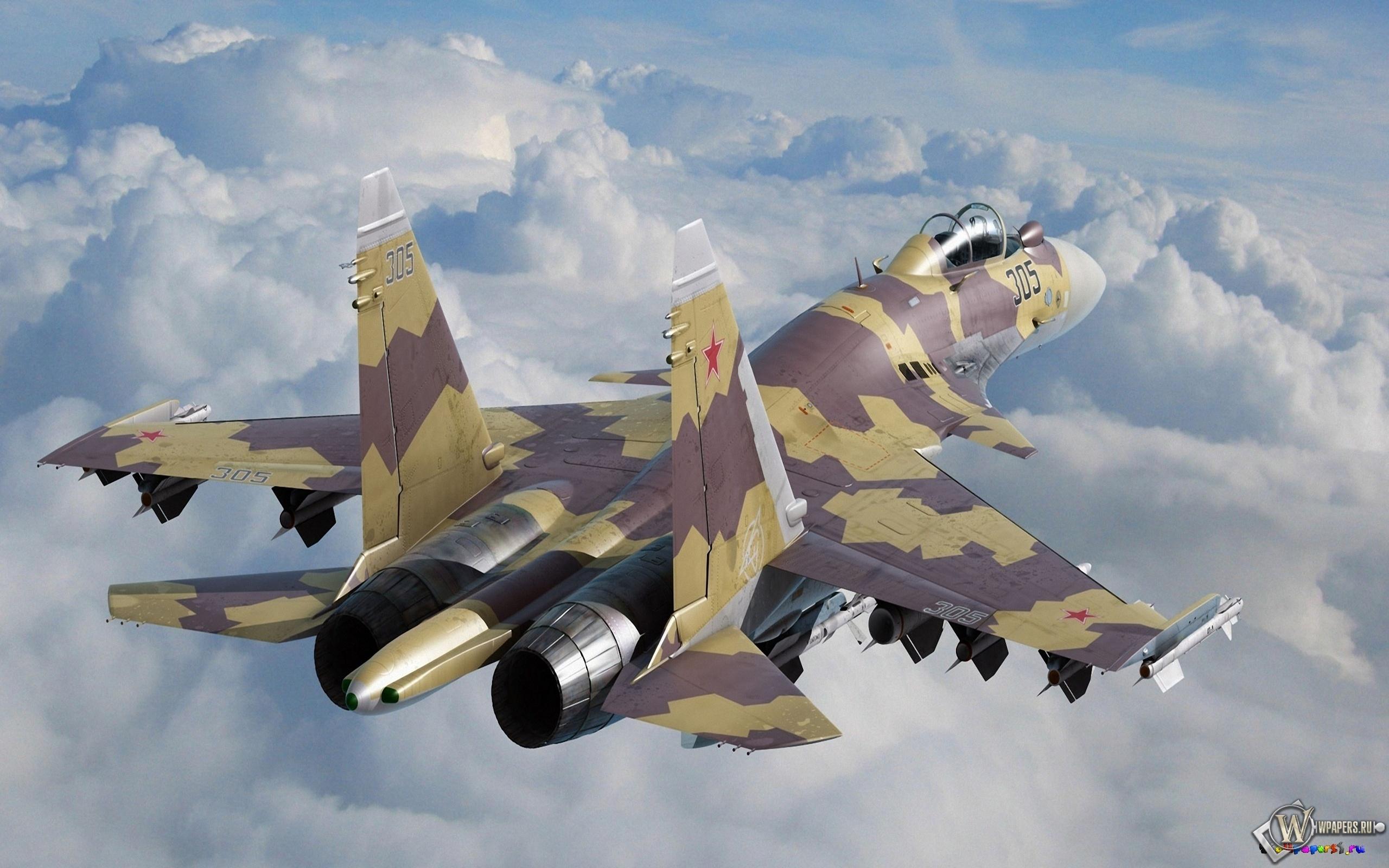 Су-37 2560x1600