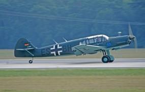 Обои Messerschmitt Bf-108 Taifun: Истребитель, Messerschmitt Bf-108 Taifun, Истребители