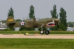 Обои Curtiss P-40: Истребитель, Авиация, Истребители
