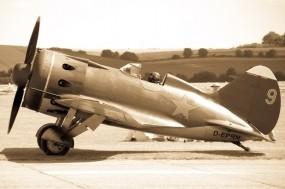 Обои Polikarpov I-16: Истребитель, Авиация, Самолеты
