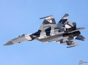 Обои Су-35: Истребитель, Су-35, Истребители