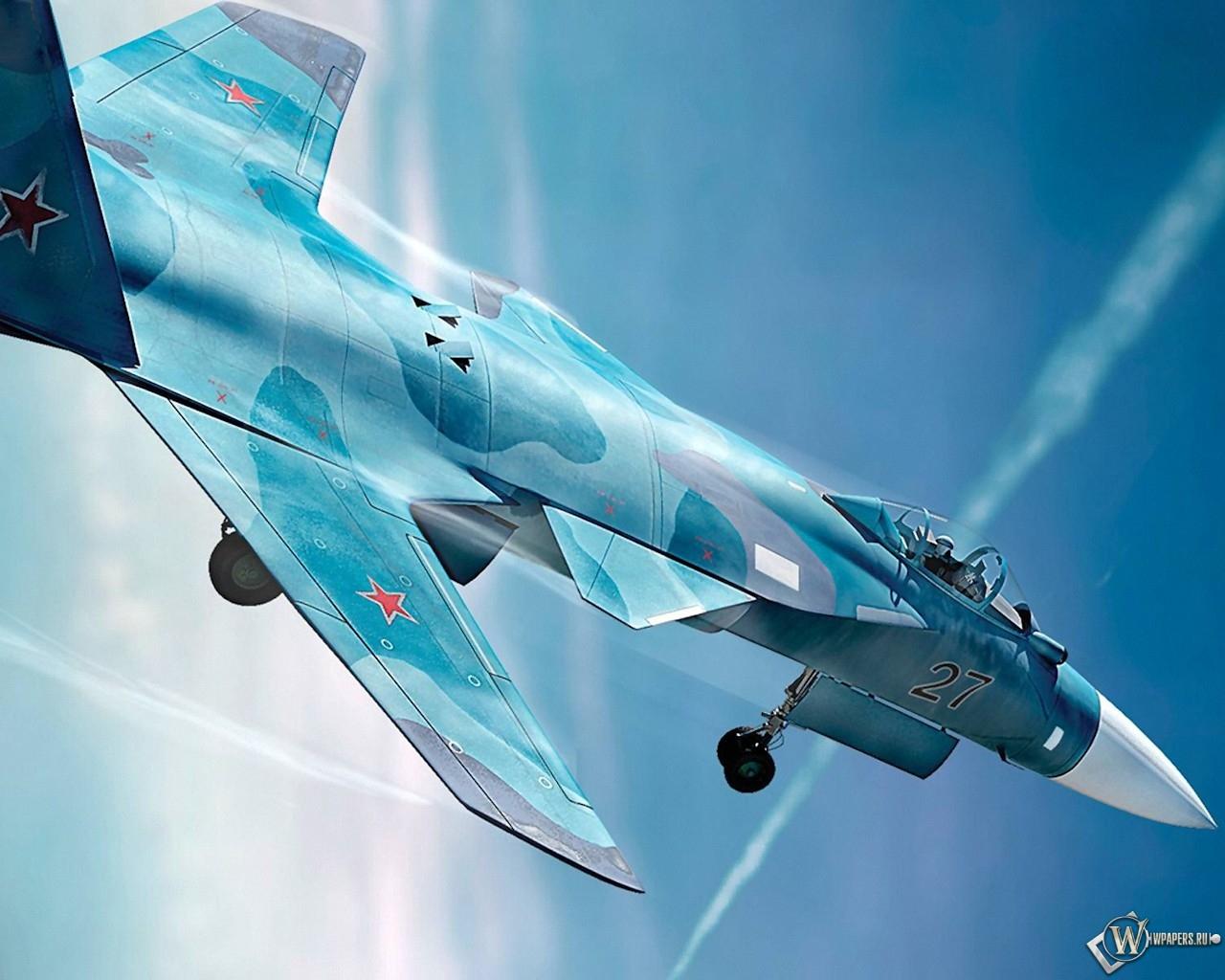 Су-47 (С-37) Беркут 1280x1024
