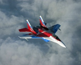 Обои Миг 29: Полёт, Небо, МиГ-29, Истребители