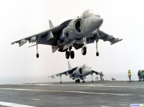 Обои Истребитель AV-8B Harrier: Истребители, Harrier, Истребители