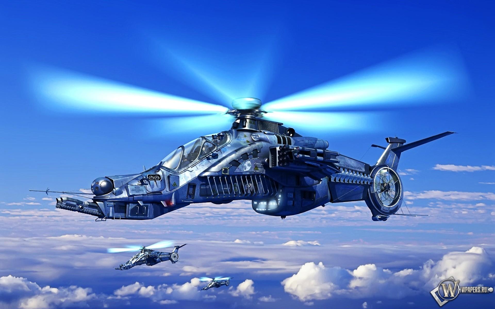 Вертолет будующего 1920x1200