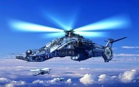 Обои Вертолет будующего: Вертолеты, Будущее, Вертолёты