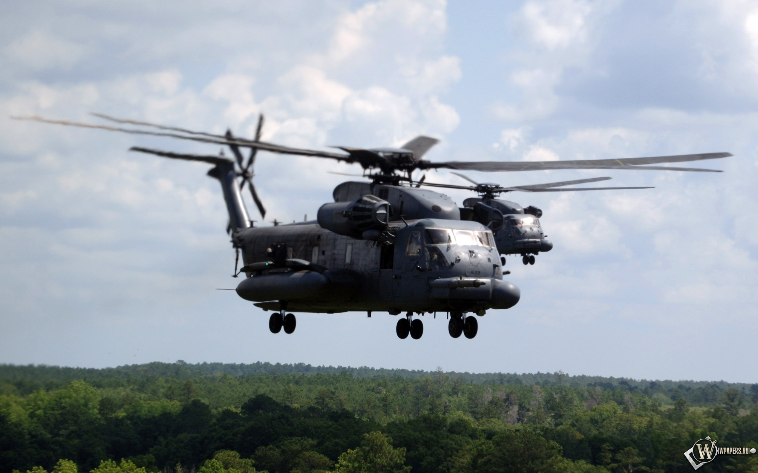 Вертолёты Ми-24 2560x1600