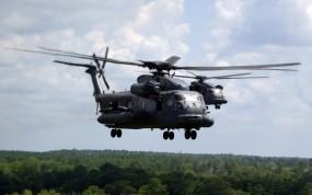 Обои Вертолёты Ми-24: Вертолет, Лес, Полёт, Ми-24, Вертолёты