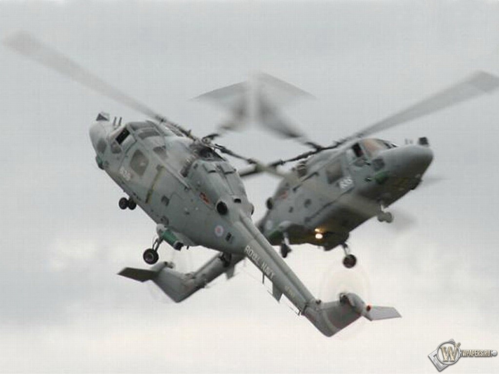 Два вертолета 1024x768