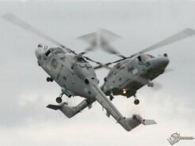 Обои Два вертолета: Вертолеты, Вертолёты