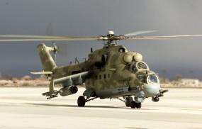 Обои Вертолет МИ-24ПТ: Вертолет, Ми-24, Вертолёты