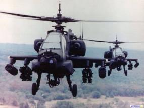 Обои Вертолеты АН-64 Apache: АН-64, Apache, Вертолёты