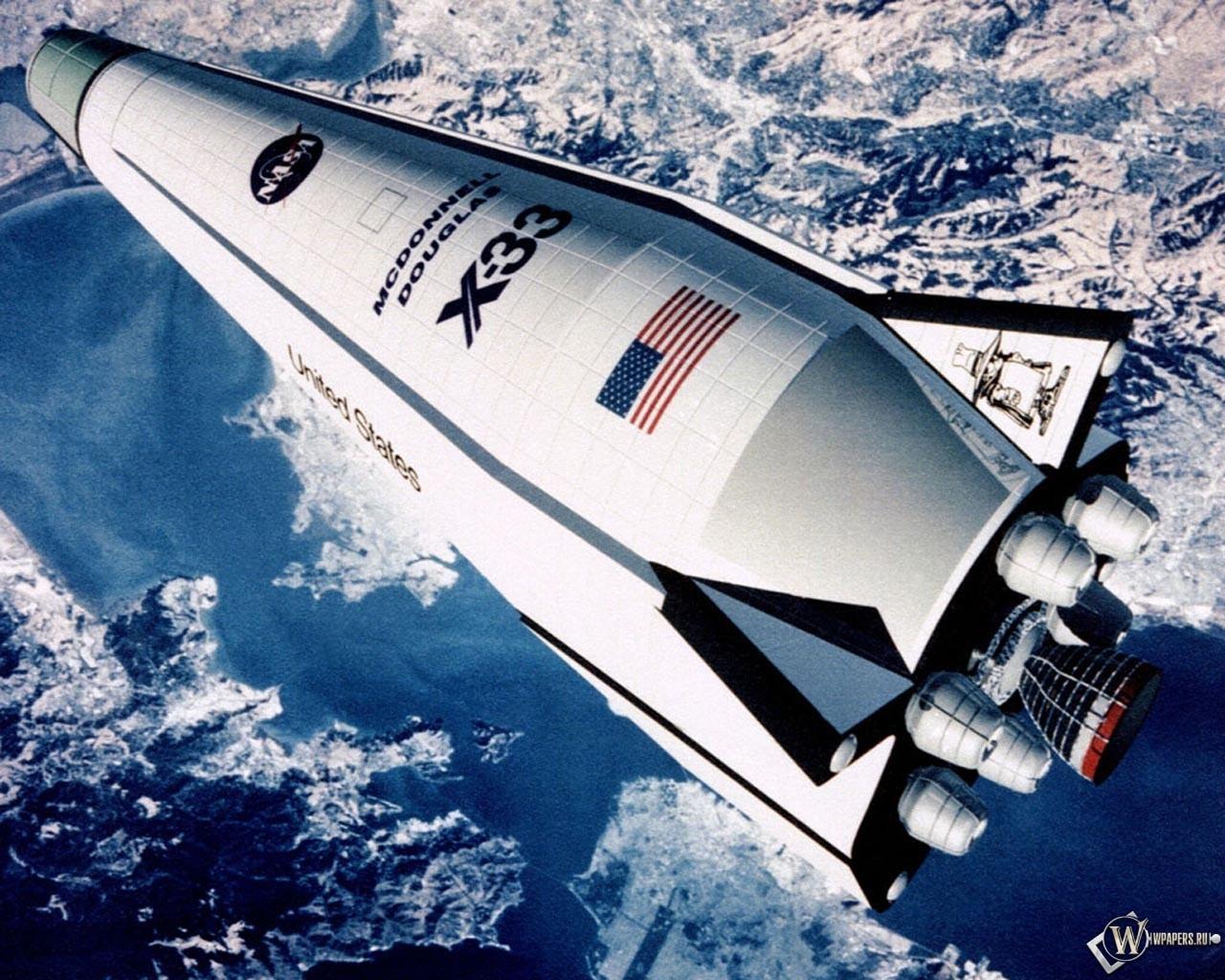 Шатл NASA 1280x1024