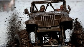 Обои В грязи: Внедорожник, Авто, Гонки, Грязь, Автомобили
