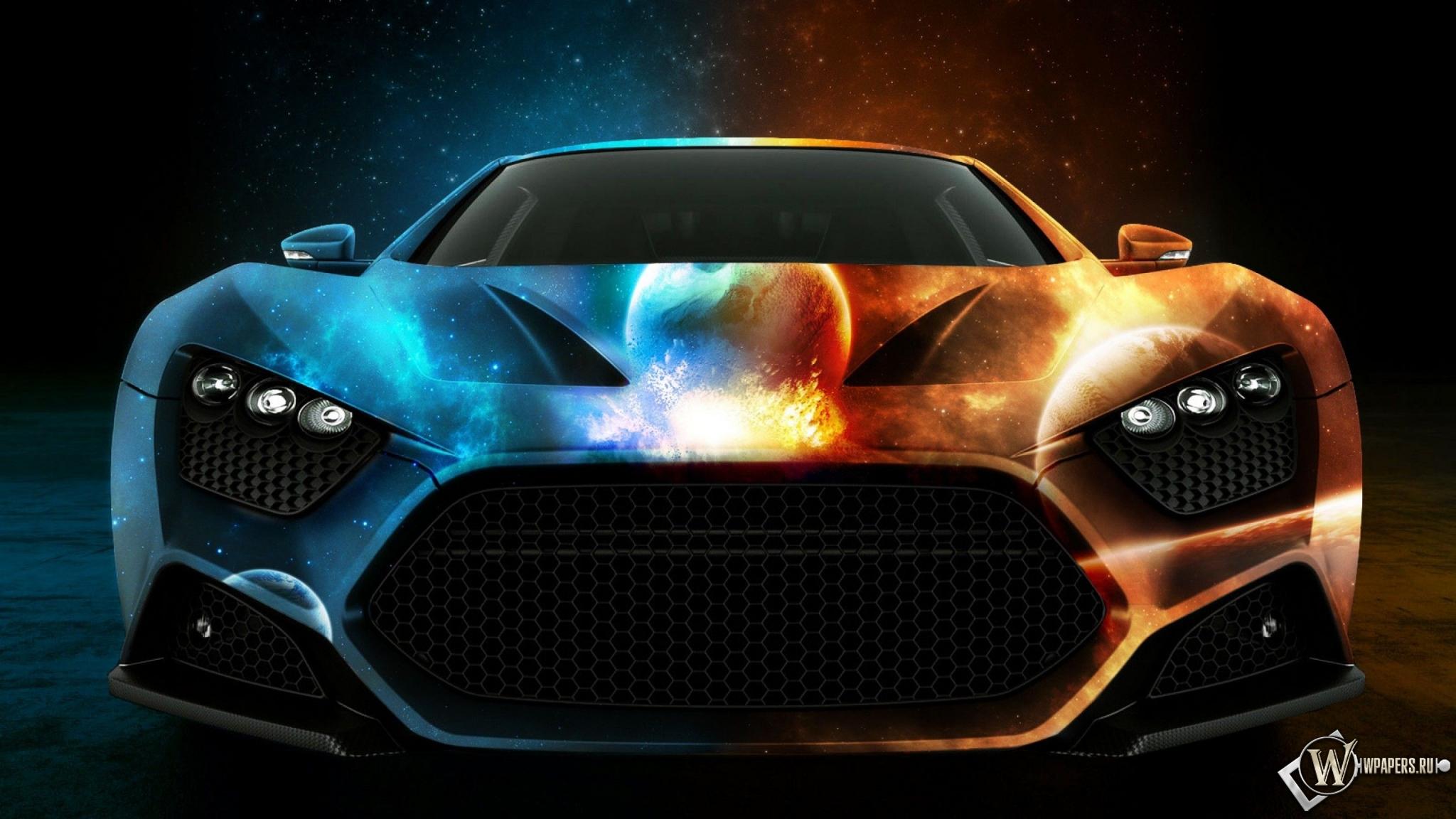 Машина двух миров 2048x1152