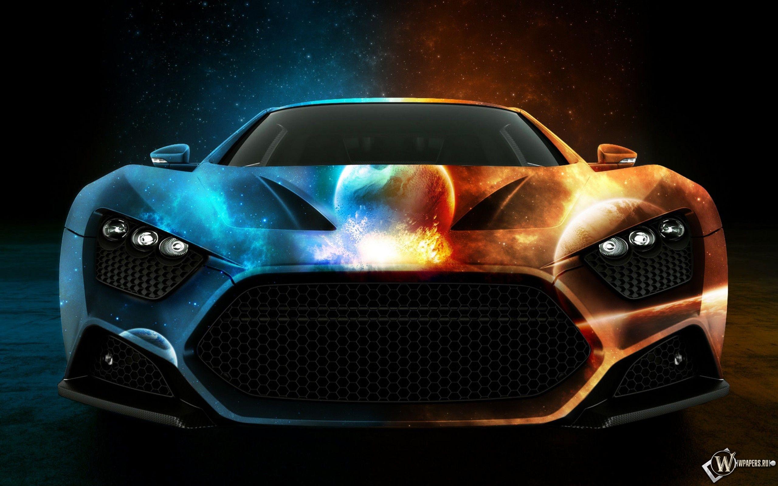 Машина двух миров 2560x1600