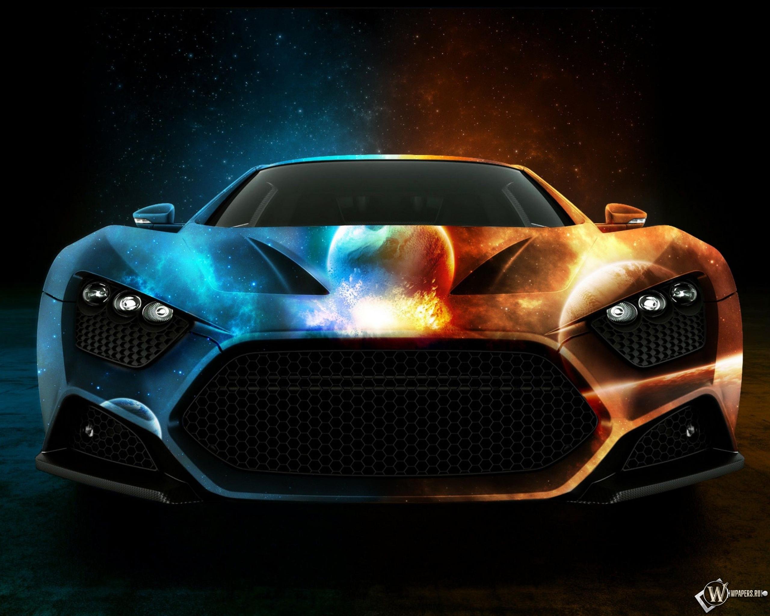 Машина двух миров 2560x2048