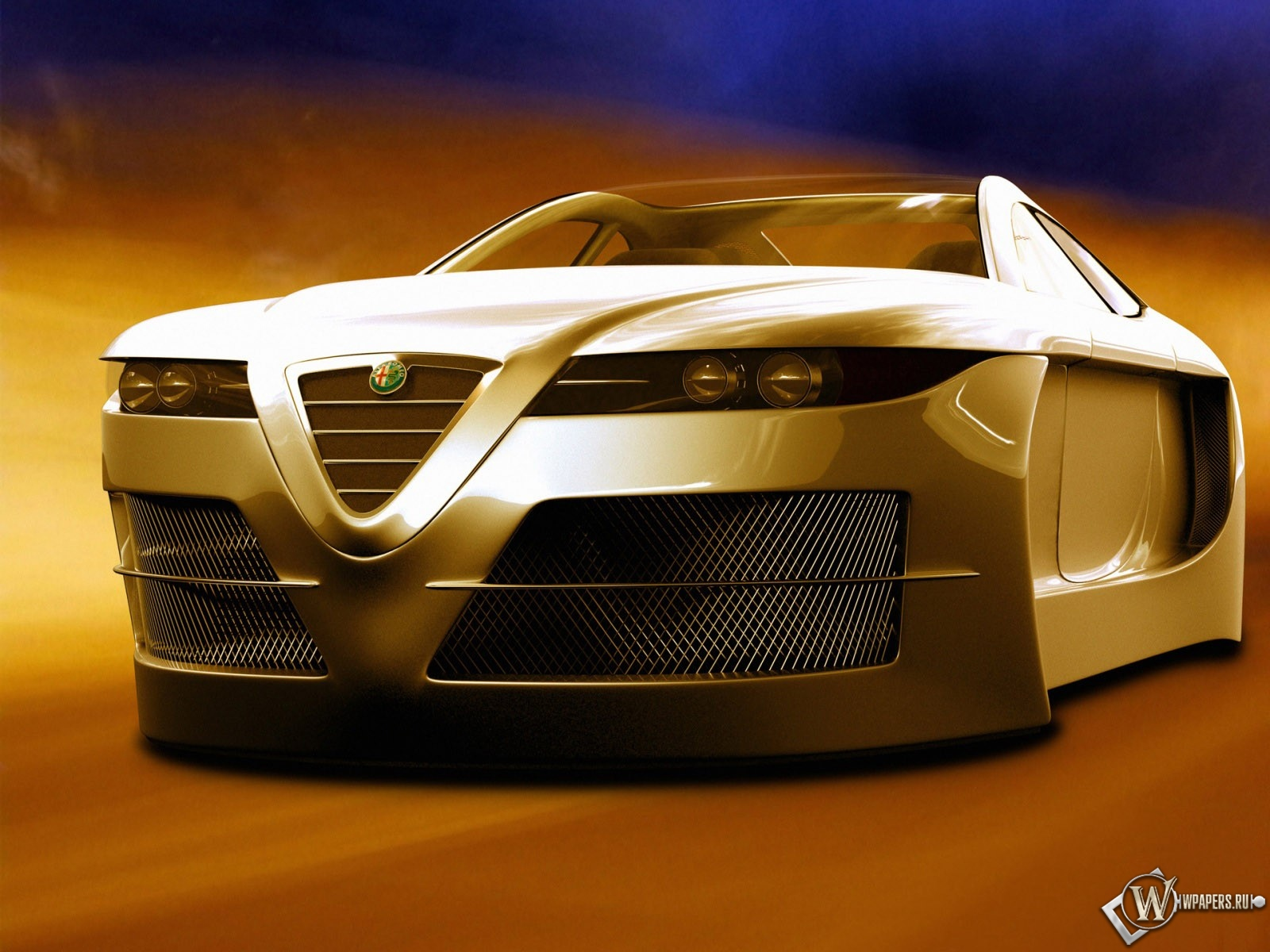 3D Альфа-Ромео 1600x1200