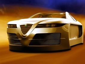 Обои 3D Альфа-Ромео: Альфа Ромео, 3D Авто