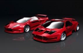 Обои Vector (USA - 2004г.в.): 3D авто, Тюнинг, Vector, 3D Авто
