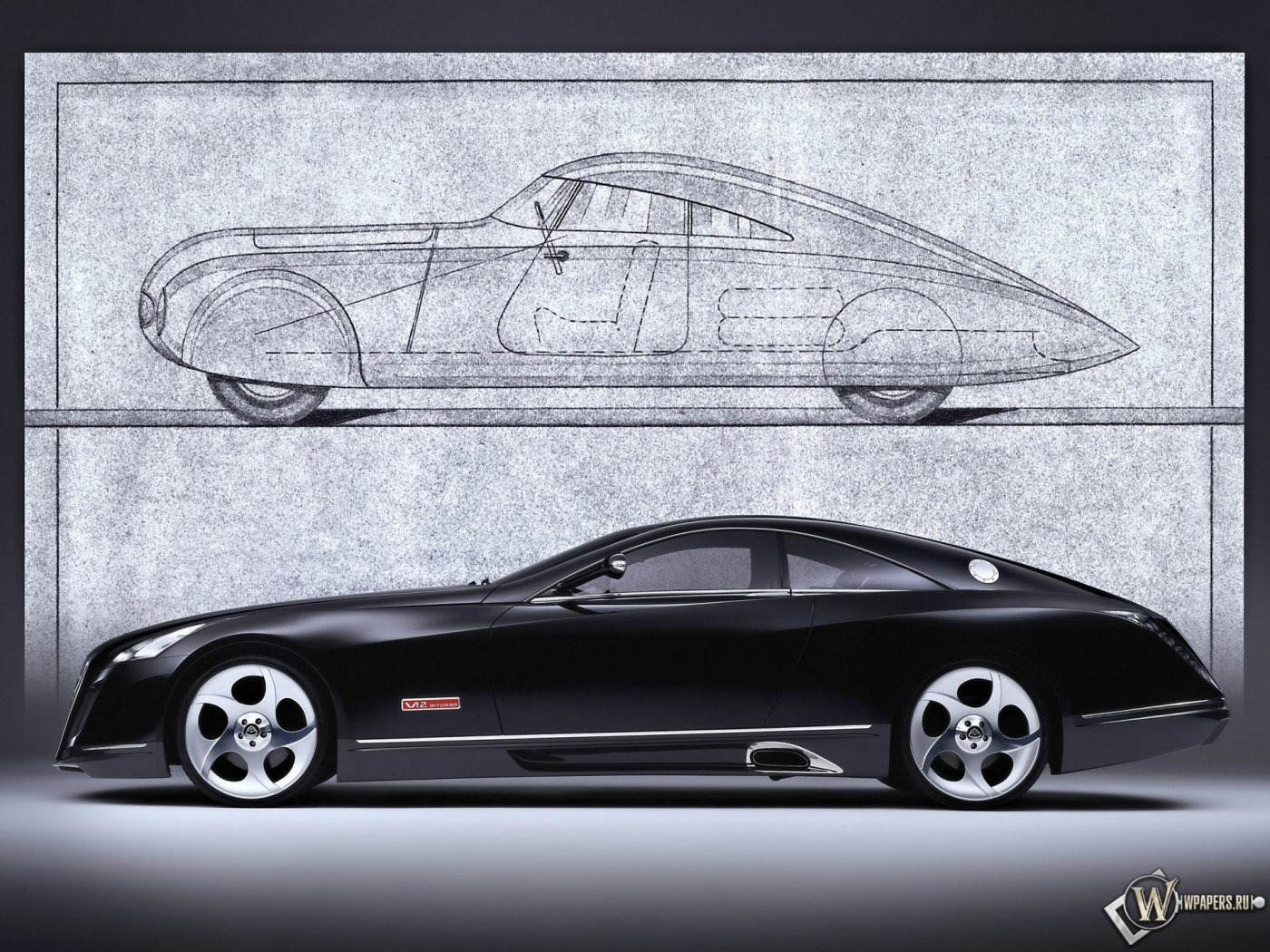 Maybach Exelero Show Car S 1400x1050