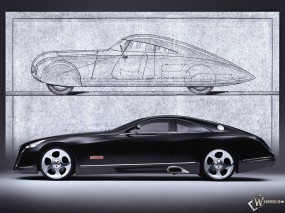 Обои Maybach Exelero Show Car S: Maybach Exelero, 3D Авто