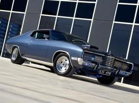 Обои Мускулкар: Синий, Сила, Ford Falcon, Мощь, Мускулкар, Автомобили