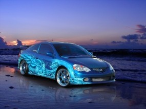 Обои Acura: Авто, Вечер, Acura, Acura