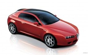 Обои Alfa-Romeo Brera: Спорткар, Alfa-Romeo, Alfa Romeo