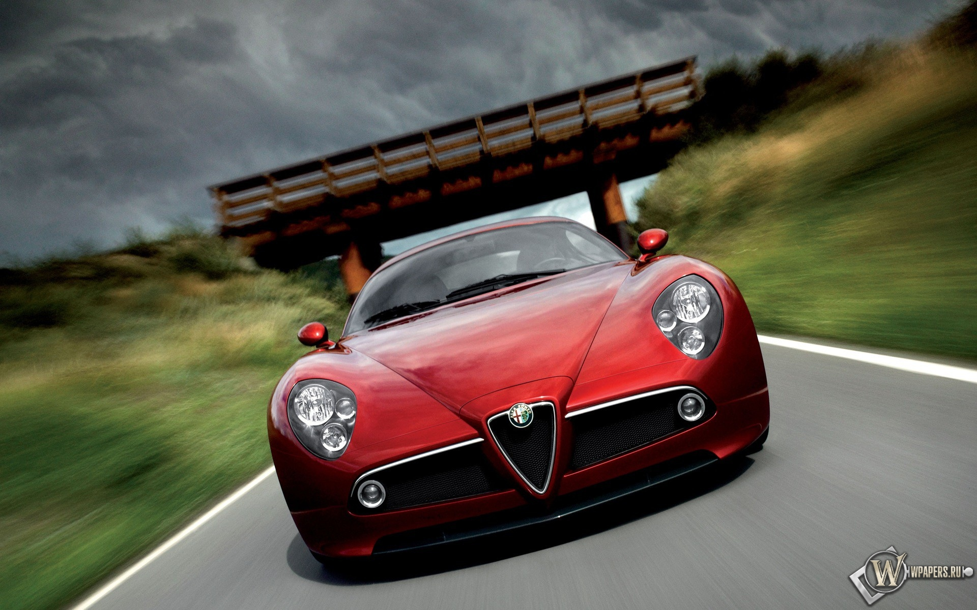 Alfa Romeo 8C 1920x1200