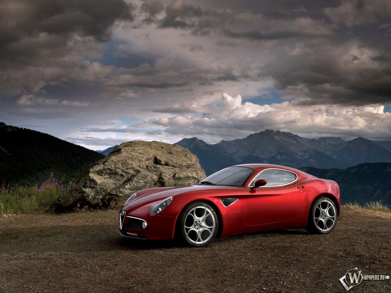 Alfa Romeo 8C 1600x1200