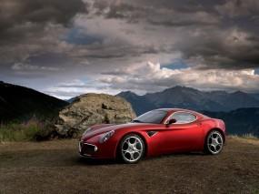 Обои Alfa Romeo 8C: Sport Car, Alfa Romeo 8C, Alfa Romeo