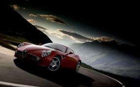 Обои Alfa Romeo: Альфа Ромео, Alfa Romeo 8C, Alfa Romeo