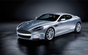 Обои Aston Martin DBS: Астон Мартин, Aston Martin DBS, Серебристый, Aston Martin