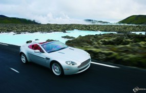 Обои Aston Martin V8 Vantage Roadster (2007): Кабриолет, Aston Martin Vantage, Aston Martin