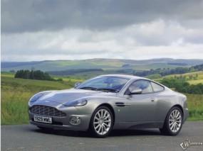 Обои Aston Martin Vanquish (2001): Астон Мартин, Aston Martin Vanquish, Aston Martin