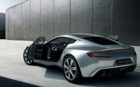 Обои Aston martin one77: Aston Martin One-77, Серебро, Aston Martin