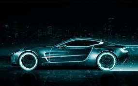 Обои неоновый астон мартин: Неон, Трон, Aston Martin, Aston Martin