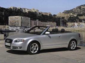 Обои Audi A4 Cabriolet: Кабриолет, Cabriolet, Audi A4, Audi