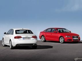 Обои Две Ауди А4: Audi A4, Audi