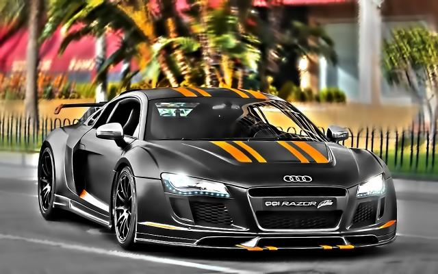 Спортивное Audi