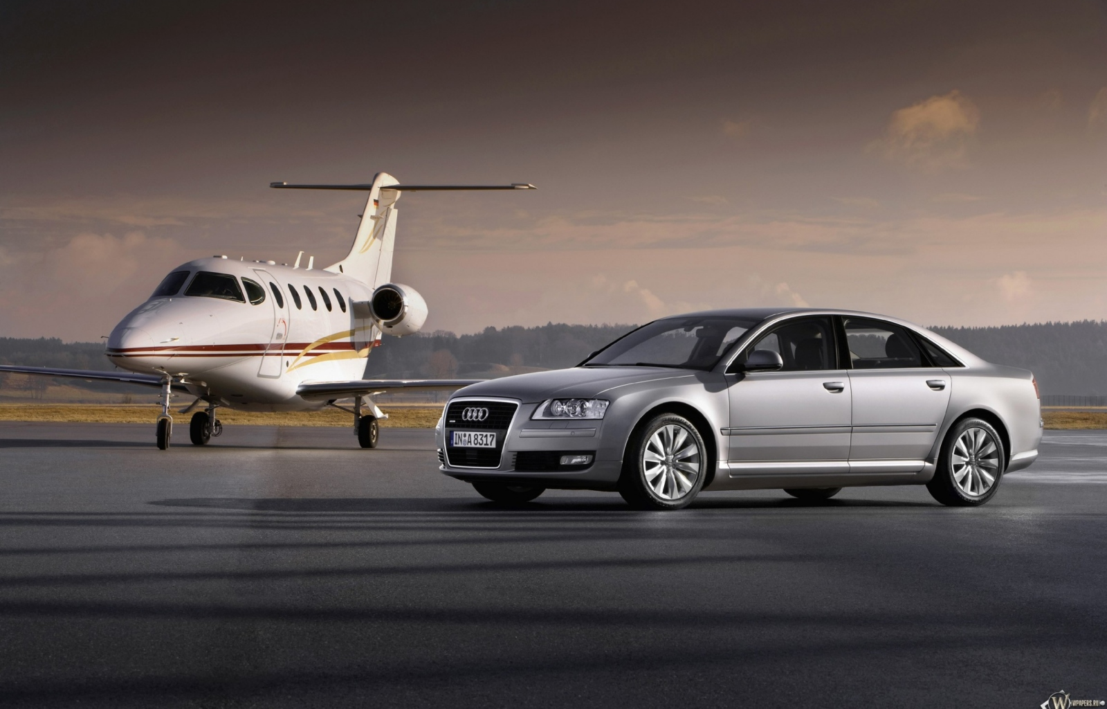 Audi A8 (2008) 1600x1024