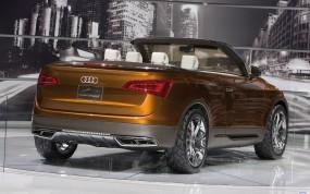 Обои Audi Cross Cabriolet: Кабриолет, Audi Cross, Audi