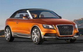 Обои Audi Cross Cabriolet: Кабриолет, Audi Cross, Audi